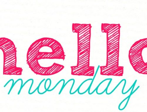 Pentru zile de luni mai bune…