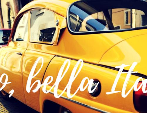 Lugerac around the world: 4 zile in bella Italia